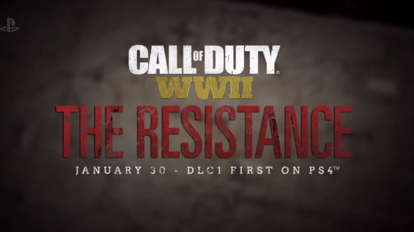 Call of Duty: WW2 The Resistance — новое дополнение